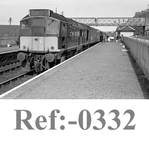 0332 D5331 at Buckie Station 5th July 1966